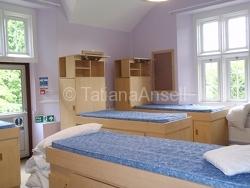 Kingham Hill School - комната в общежитии