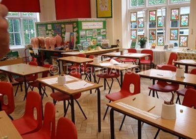 St Francis' College классная комната начальных классов