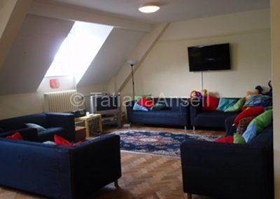 St Francis' College общая комната в общежитии-пансионе