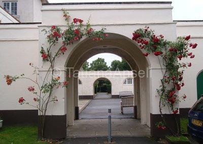 St Francis' College дворик