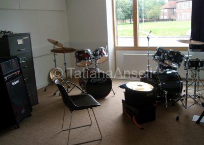 Комната для занятий музыкой