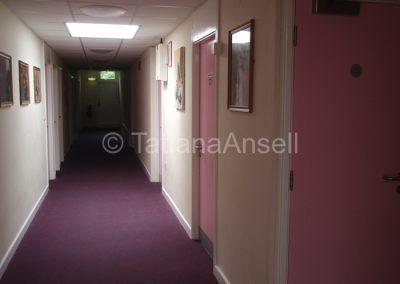 Коридор в общежитии для девочек