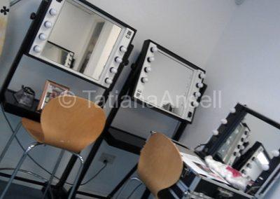Комната для грима и макияжа