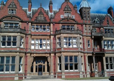 Главное здание школы - южный фасад