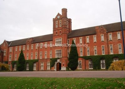 Одно из старейших зданий Trent College