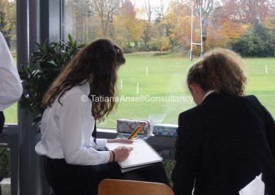 Урок рисования в Trent College