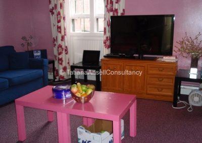 Общая комната в общежитии девочек в Trent College