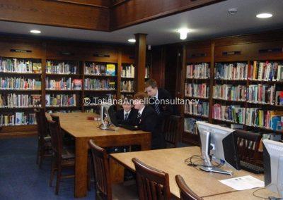 Библиотека в Trent College