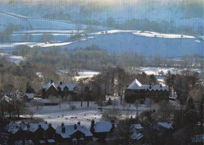 Рождественская открытка от школы Sedbergh