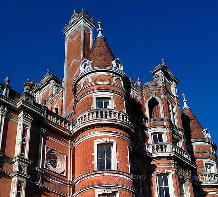 Фоторепортаж о посещении британского университета Royal Holloway