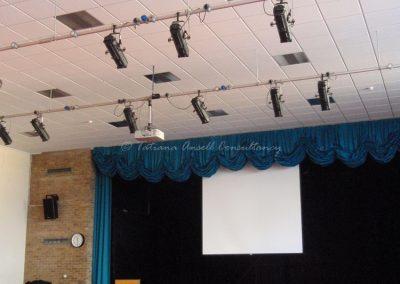 Театральный зал школы