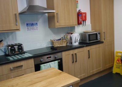 Кухня в общежитии для девочек