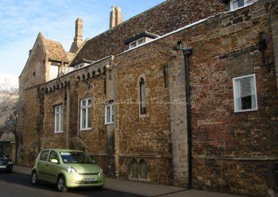 Здание общежития для мальчиков