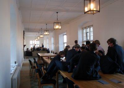 Общая комната в здании для старшеклассников