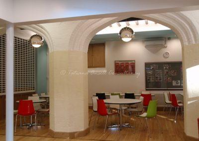 Столовая в здании для старшеклассников