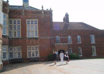 Здание школы New Hall School