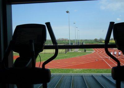 Вид из окна тренажерного зала