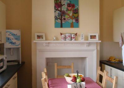 Кухня в общежитии девочек