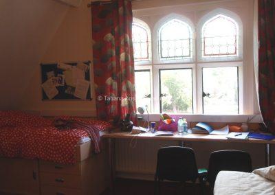 Спальня в общежитии девочек школы Бокс Хилл Скул