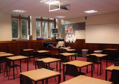 Английская школа-пансион Sedbergh - классная комната.