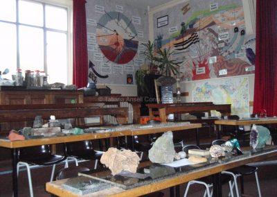 Английская школа-пансион Sedbergh - класс геологии.
