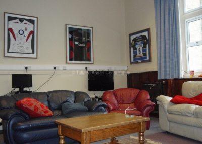 Английская школа-пансион Sedbergh - общая комната в общежитии мальчиков.