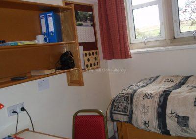 Английская школа-пансион Sedbergh - комната в общежитии мальчиков.