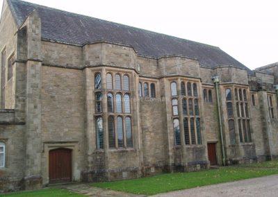 Английская школа-пансион Sedbergh - школьная церковь.