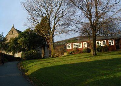 Английская школа-пансион Sedbergh - на территории школы.