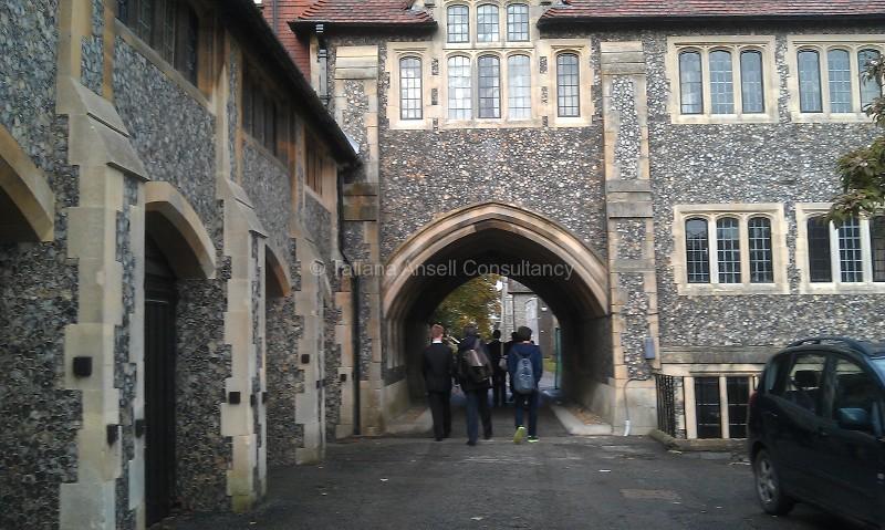 Фоторепортаж о посещении Lancing College