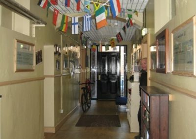 Школьный коридор Campbell College