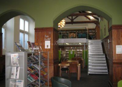 В библиотеке Campbell College
