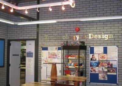 В отделении дизайна и технологий
