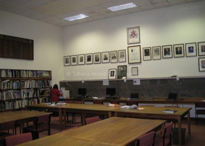 В библиотеке школы Роял Данганнон