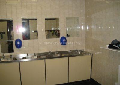 Ванная комната в общежитии Royal Dungannon