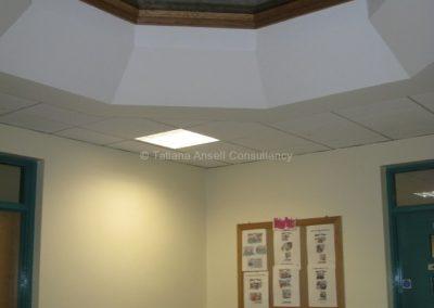 В здании школы Royal Dungannon