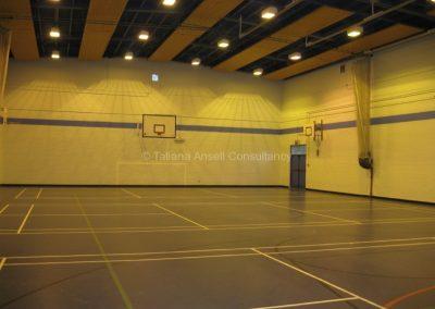 Спортивный зал школы Royal Dungannon