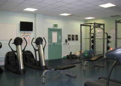 Тренажерный зал школы Royal Dungannon