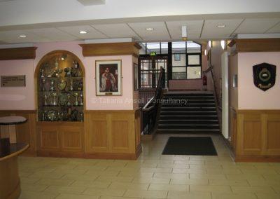Вестибюль школы Royal Dungannon