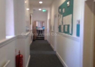 Корридор в общежитии мальчиков Epsom College