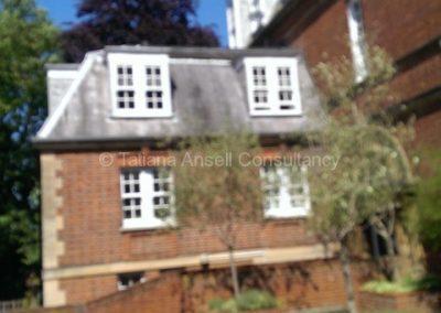 Пристройка к общежития мальчиков - дом заведующего общежитием Epsom College