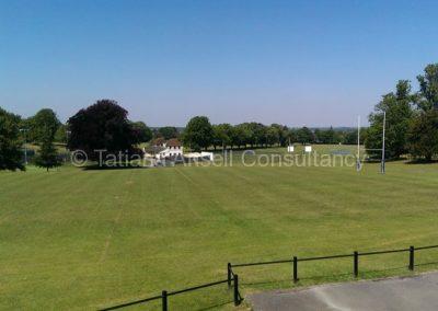 Спортивные поля Epsom College