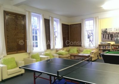 Общая комната в общежитии Mill Hill School