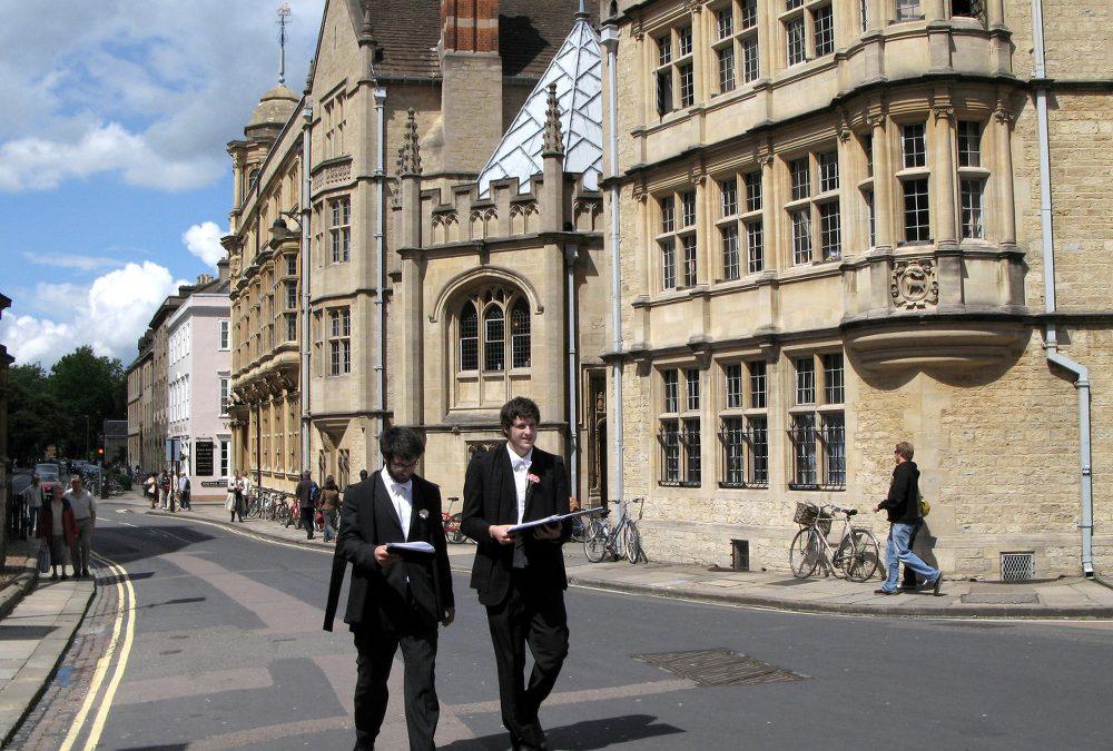 О процессе поступления в Оксбридж (часть 1)