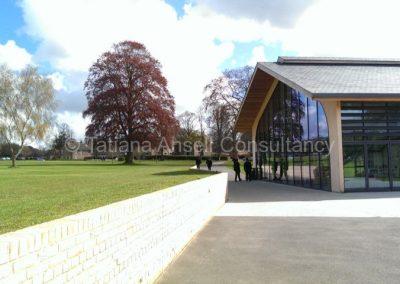 Новое здание библиотеки Калфорд Скул