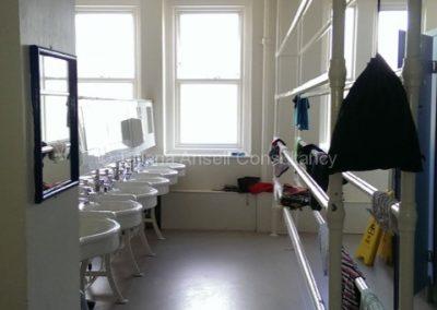 Ванная в общежитии для младших школьников Калфорд Скул
