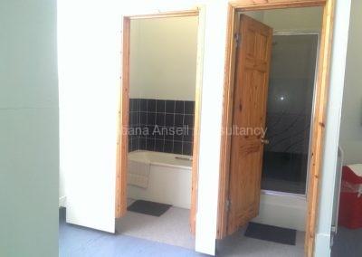 Ванная комната в общежитии Walden_School