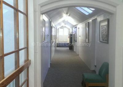 Коридор в общежитии Walden_School