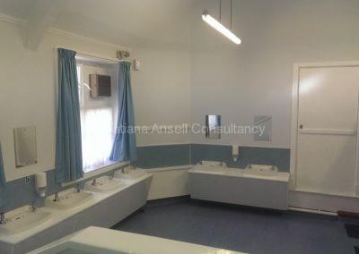 Умывальная комната в общежитии Walden_School