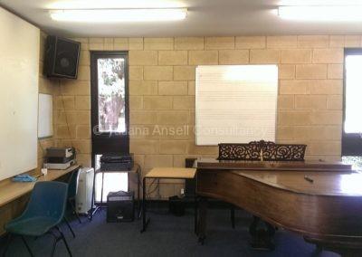 Комната для занятий музыкой Walden_School